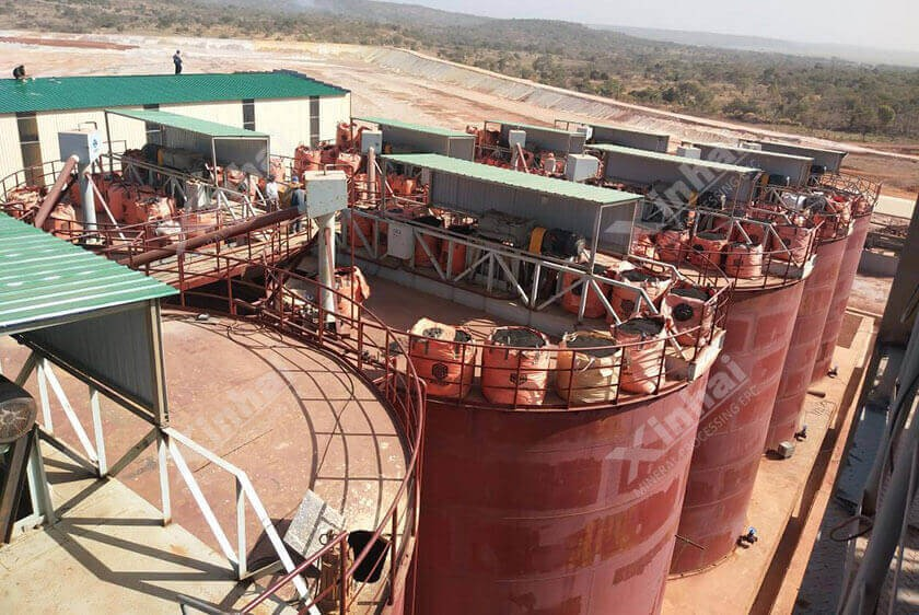 Guinea 6,000t/d Gold Mineral Processing Plant